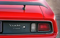 'Cuda by Plymouth - 1971 - By Gordon Dean II