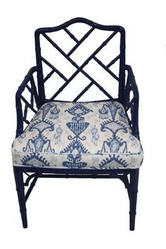Chinoiserie Chic: Navy Chinoiserie DIY