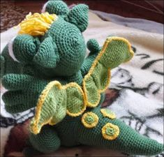 Ingyenes Horgolás Leírások: Süsü magyar nyelvű leírás Crochet Patterns Amigurumi, Amigurumi Minta, Chrochet, Dinosaur Stuffed Animal, Crafty, Toys, Baby, Animals, Diy Bags