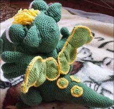 Ingyenes Horgolás Leírások: SÜSÜ leírás Crochet Patterns Amigurumi, Amigurumi Minta, Chrochet, Softies, Dinosaur Stuffed Animal, Crafty, Toys, Baby, Animals