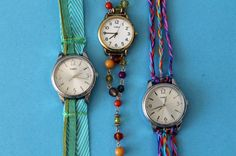 "It's ""Time"" to Make Watch Wrap Bracelets! 