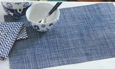 PVC Placemats, easy to clean