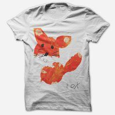 Fox by Edie (Kids) White T-Shirt PRE-ORDER