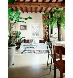 Minimal Bohemian Living Rooms on Sycamore Street Press