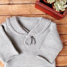 Baby sailor sweater ⚓️ #knitting #knitstagram #knittersofinstagram #sublimeyarn