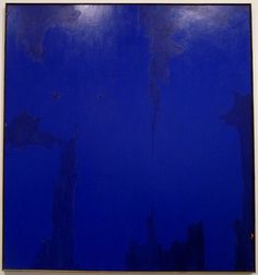 Clyfford Still; abstract expressionism - i'm sorry but i sorta like this too. Clyfford Still, Robert Motherwell, Cy Twombly, Gerhard Richter, Richard Diebenkorn, Francis Bacon, Found Art, Contemporary Abstract Art, Jackson Pollock