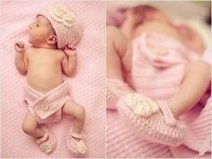 Newborn photography ideas | Baby girl | Jennifer Baumann Photography