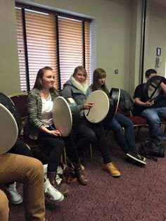 Bodhran activity for our students!!! #kilkenny