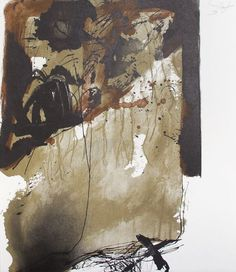 lithographsize: x inches MORE Antoni Tapies Art paintings, plastic arts, visual arts, art Art Espagnole, Modern Art, Contemporary Art, Art Terms, Abstract Geometric Art, Art Brut, Landscape Artwork, Pablo Picasso, Aboriginal Art