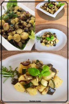 Salată mediterană de cartofi Sprouts, Vegetables, Recipes, Food, Recipies, Essen, Vegetable Recipes, Meals, Ripped Recipes