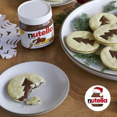 Your friends and family will thank you a latte when you bake Chai Latte Cookies with Nutella® hazelnut spread!  Discover holiday recipes at Nutella.com.