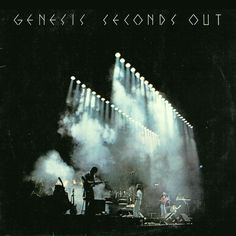 Genesis - Seconds Out GER 1977 2x LP *vg++* with 2 single sheet inlays