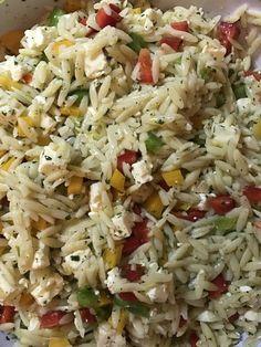 Kritharaki - Salat 3