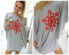 #style #fashion #regina #dukai #sugarbird #hungary #gray #snowflake #red