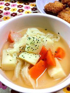 美味しい母乳の為に根菜スープ♡ - 12件のもぐもぐ - ポトフ by yutanpochan