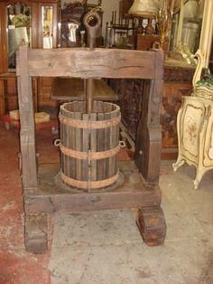 Antique French Wine Press