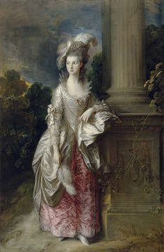 The Honourable Mrs Graham, by Thomas Gainsborough, 1775-1777. National Galleries of Scotland