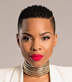 Short natural African American hairstyles can make you look trendy short haircut styles for natural black hair - Black Haircut Styles Short Natural Haircuts, Natural Hair Cuts, Short Black Hairstyles, Natural Hair Styles, Hairstyles 2018, Short Natural Black Hair, Ethnic Hairstyles, Hairstyles Pictures, Natural Big Chop