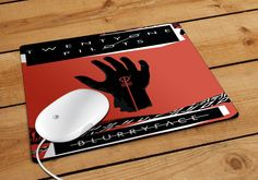 This is Twenty One Pilots Mousepad made from fabric surface rubber backed mouse pad. Custom imprint of your image in full color printing on the mousepad is included. No set up charge. Thickness 1/8 in