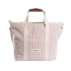 - Accessories - Picnic Essentials, Mini Cooler, Sun Shop, Beach Tent, Pink And White Stripes, Leather Handle, Diaper Bag, Gym Bag, Business