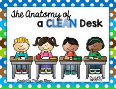 The Anatomy of a Clean Desk