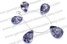 Morado Purple Opal Faceted Pear Quality AA / by GemstoneWholesaler