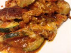 "Vegetarian ""dehydrated eggplant noodle"" lasagna w/ mascarpone & sun-dried tomato sauce w/ zucchini, mushroom, shredded carrots and mozzarella!!! SOOOOOOO delicious!!!"