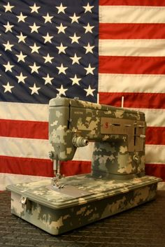 Sewing Machine Love!  ARMY WIFE love!