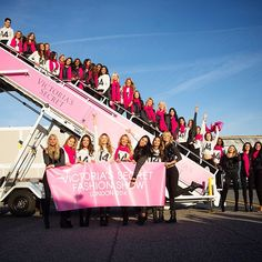 Leaving on a jet plane. See you soon, London! #VSFashionShow