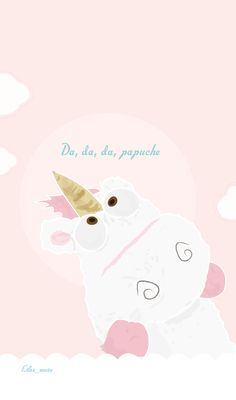 wallpaper - smartphone - iPhone - illustration - licorne - fluffy - moi moche et méchant - minions - papuche - despicable me
