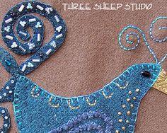 Bead Embellishment - Three Sheep Studio