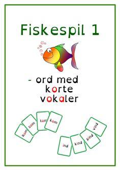 Du søgte efter Fiskespil - Bubbleminds Diy For Kids, Danish, Language, Teaching, Inspiration, Education, Adhd, Uganda, School