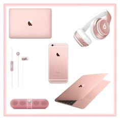 """Rose Gold"" by annahlysis on Polyvore featuring Beats by Dr. Dre"