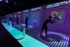 """""""Fitzania"""" - Museum of Future Government Services (Dubai) – Working Not Working Installation Interactive, Interactive Exhibition, Interactive Walls, Interactive Display, Interactive Media, Interactive Design, Interactive Projection, Projection Mapping, Interaktives Museum"""