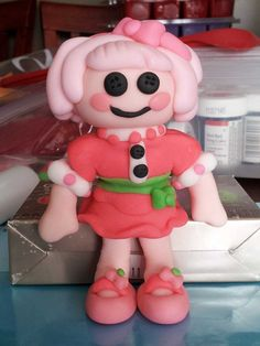 Lalaloopsy doll cake!