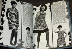 ŽENA A MÓDA 1968 - 1969.  Komplet dva ročníky v jednom svazku. - Ročník XX. 1968, č. 1-12. Ročník XXI. 1969, č. 1-12. Módní měsíčník. Praha...