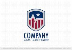 Pre-designed logo 4135: Stars and Stripes Medical Logo