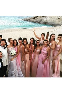 Ana Beatriz Barros's wedding album - from the celebrity bridesmaids to her designer wedding dress