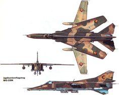 mig-23bn east german airforce