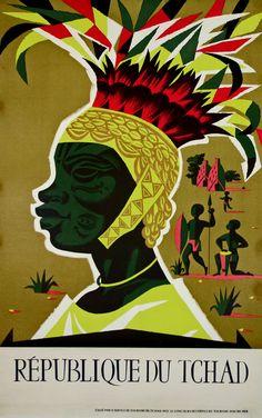 Republique du Tchad by Alain Cornic (1950)
