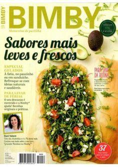 Bimby junho 2015 by Ricardo Fernandes - issuu Pesto, Learn Brazilian Portuguese, Good Food, Yummy Food, Simply Recipes, Make It Simple, Nom Nom, Side Dishes, Slow Cooker