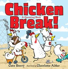 """A Counting Book"""" by Cate Berry available from Rakuten Kobo. Chicken Break, a children's picture book from writer Cate Berry and illustrator Charlotte Alder, is simple fun with some. Got Books, Used Books, Book Club Books, Children's Books, Writing Pictures, Counting Books, 3 Year Olds, Learn To Count, Children's Picture Books"""
