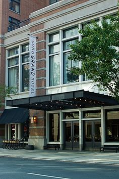 The Soho Grand is a trend setting downtown hotel and an anchor of the Soho scene. #Jetsetter