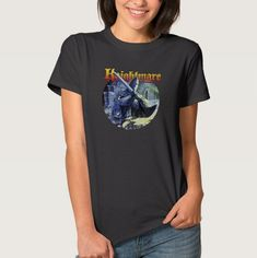 """Pin for Later: The Very Best '80s and '90s Nostalgia Gifts For Retro Fans """"You're in a Room . . . """" Knightmare Fright Knight T-Shirt (£26)"""