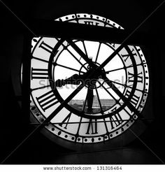 PARIS - MAY 08: The Orsay Museum (Musee d'Orsay) clock, on May 08, 2012 in Paris, France. The Orsay Museum is the largest in the world colle...