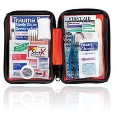 $19.00 Amazon.com: First Aid Only Outdoor First Aid Kit, Soft Case, 205-Piece Kit: Health & Personal Care