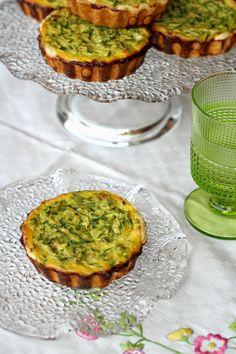 Mini quiche con zucchine semplici e buonissime - Chiarapassion