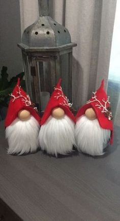 Ever since a visit to Denmark I really liked the Scandinavian Christmas gnomes (or tomte, nisse. Christmas Gnome, Christmas Projects, Christmas Holidays, Scandinavian Gnomes, Scandinavian Christmas, Christmas Crafts, Christmas Decorations, Christmas Ornaments, Gnome Tutorial