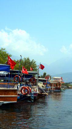 Boats. [Summer 2013] #Photography #Water #Boats #Turkey
