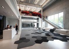 Lobby carpet pattern